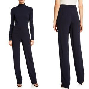 St. John High Rise Navy Blue Dress Pant Trousers